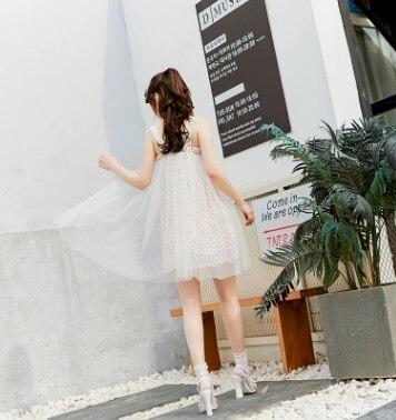 Net Princesse Sweet Rose Papillon Noeud Doux Été Un Lolita Sans Belle Vc172 Manches Couture Printemps Est Fille Et Robe rOqrdwU