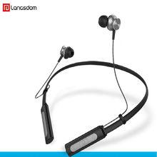 Langsdom Neckband Sport Auricolare Bluetooth L9 portatile auricolare bass  stereo gaming headset auricolari con microfono per 0a71430a6a0e
