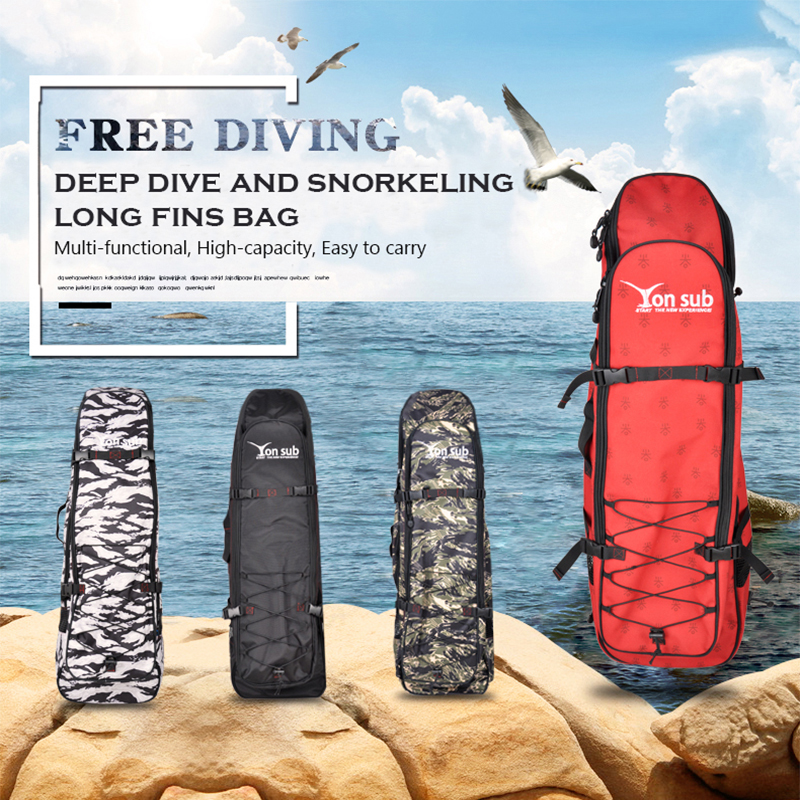 Diving Bag Portable Equipment Package Large Capacity Long Fins Package Four Color YQ38Diving Bag Portable Equipment Package Large Capacity Long Fins Package Four Color YQ38