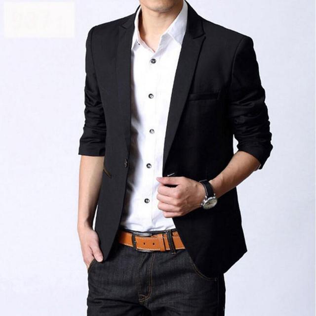 Европейских дизайнер мужчины мода на заказ дешевые джентльмен формальный полный Костюм Куртки тонкий популярные черные Куртки для мужчин