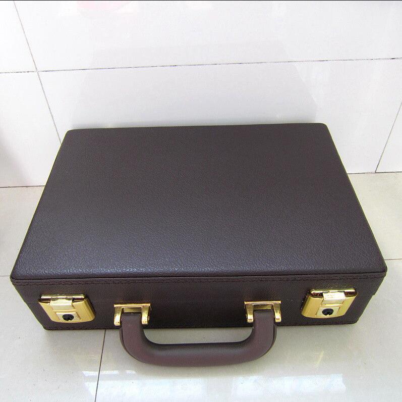 100% Wahr High-grade Moulded 17key Klarinette Fall Mit Plüsch Gefüttert Innen Leder Braun Box Fall Perfekte Produkte Werden Ohne EinschräNkungen Verkauft