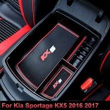 Автомобиль полка для мелочей для Kia Sportage KX5 4 QL LHD 2016 2017 2018 на авто интимные аксессуары органайзер для хранения держатель чехол