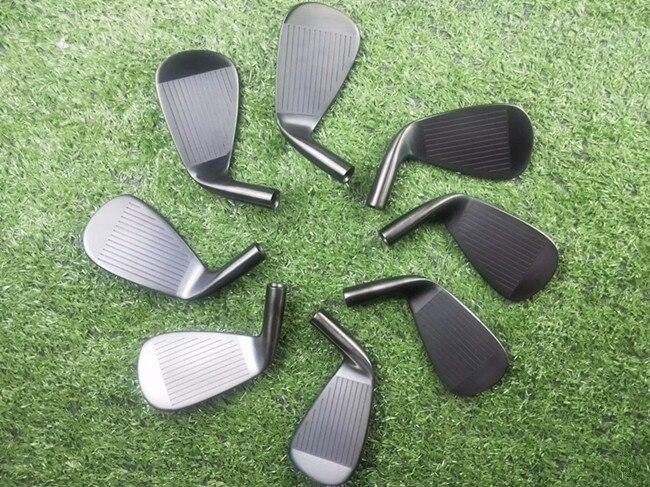 Brand New A2 718 Iron Set Black 718 A2 Golf Irons Golf Clubs 3456789Pw 8PCS R