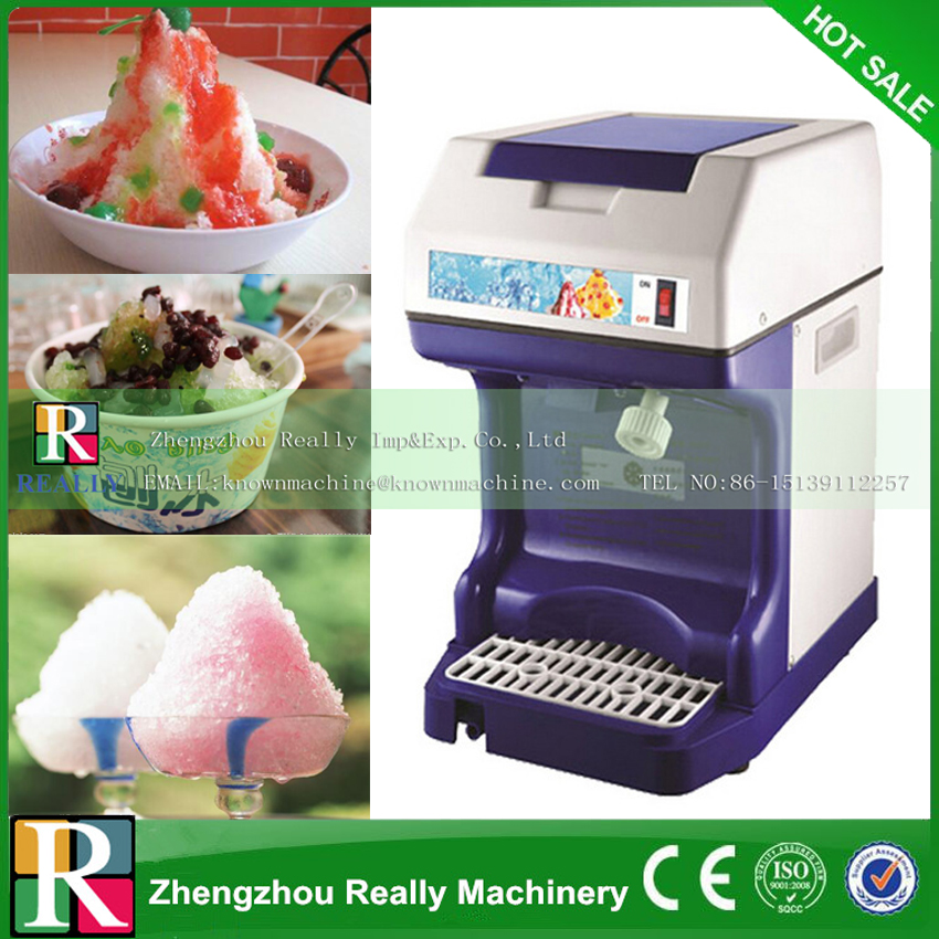 120kgh ice crusher automatic industrial ice shaver machine ice slush maker for hotel restaurant - Industrial Coffee Maker