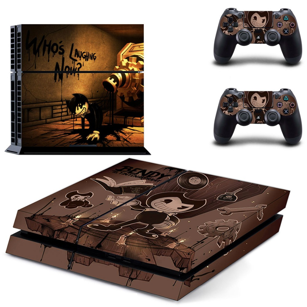 Decal Skin-Sticker Controllers The-Ink-Machine Vinyl Playstation PS4 4-Console New Sony