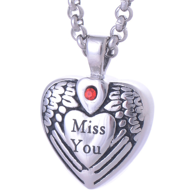 Miss You Urn Necklace