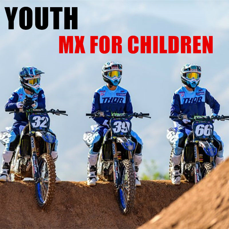 2020 Children Blue Youth KIDS Motocross Gear Set For YAMAHA Dirt Bike MX Jersey And Pant Motorcycle Suit2020 Children Blue Youth KIDS Motocross Gear Set For YAMAHA Dirt Bike MX Jersey And Pant Motorcycle Suit