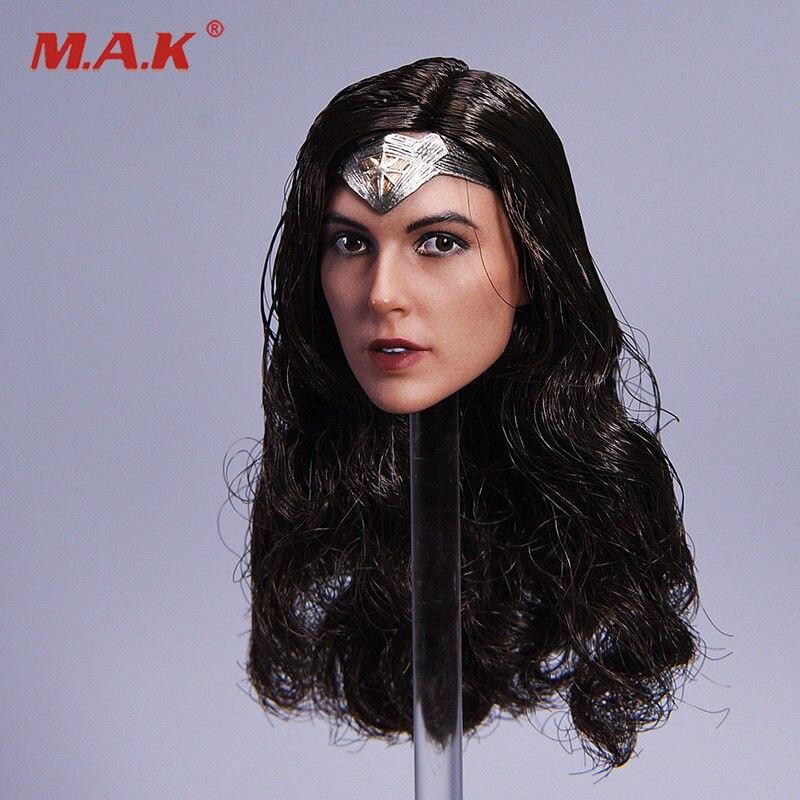 1/6 Весы косоглазие версия гадот Wonder Woman Глава Sculpt для 12 дюйм(ов) женскую фигурку