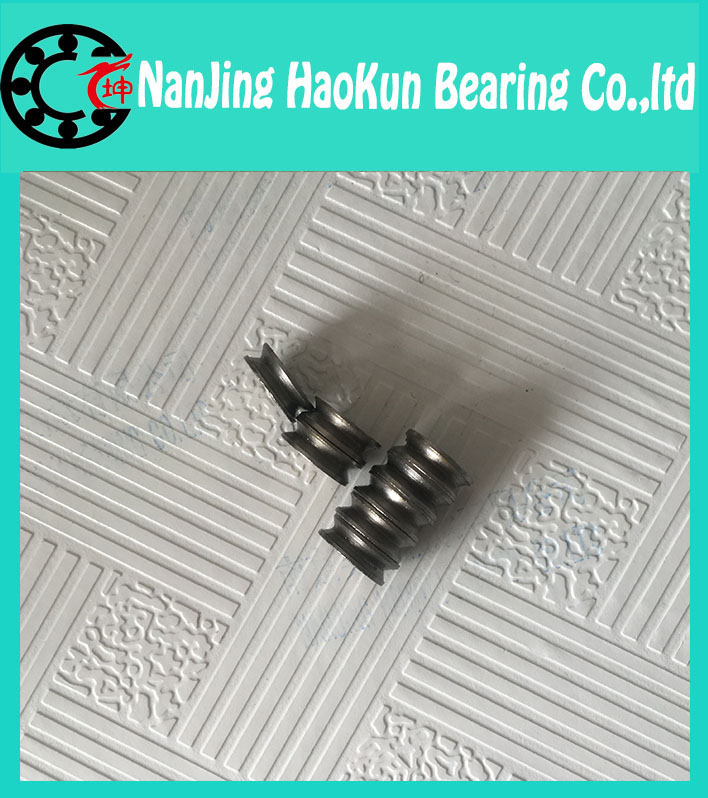624VV V Groove Sealed Ball Bearings Vgroove 4X13X6mm 1.7mm deep sealing cover deep groove ball bearing tefal gt 30083 e