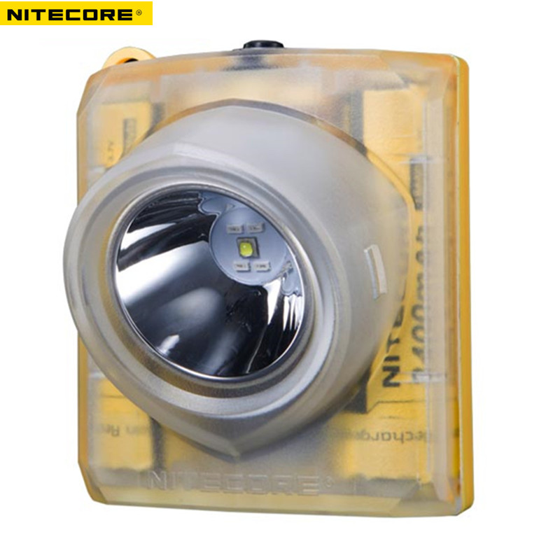 NITECORE EH1 Explosion-Proof Headlamp CREE XP-G2 S3 LED Headlight +USB Cable+Adapter+adhesive Mount Industrial Lighting