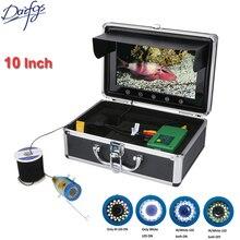 10 Inch TFT HD 1000TVL Underwater Fishing Digital camera 30M 50M 15pcs White  LEDs + 15pcs Infrared Lamp For Sea/ Ice Fishing fishfinder
