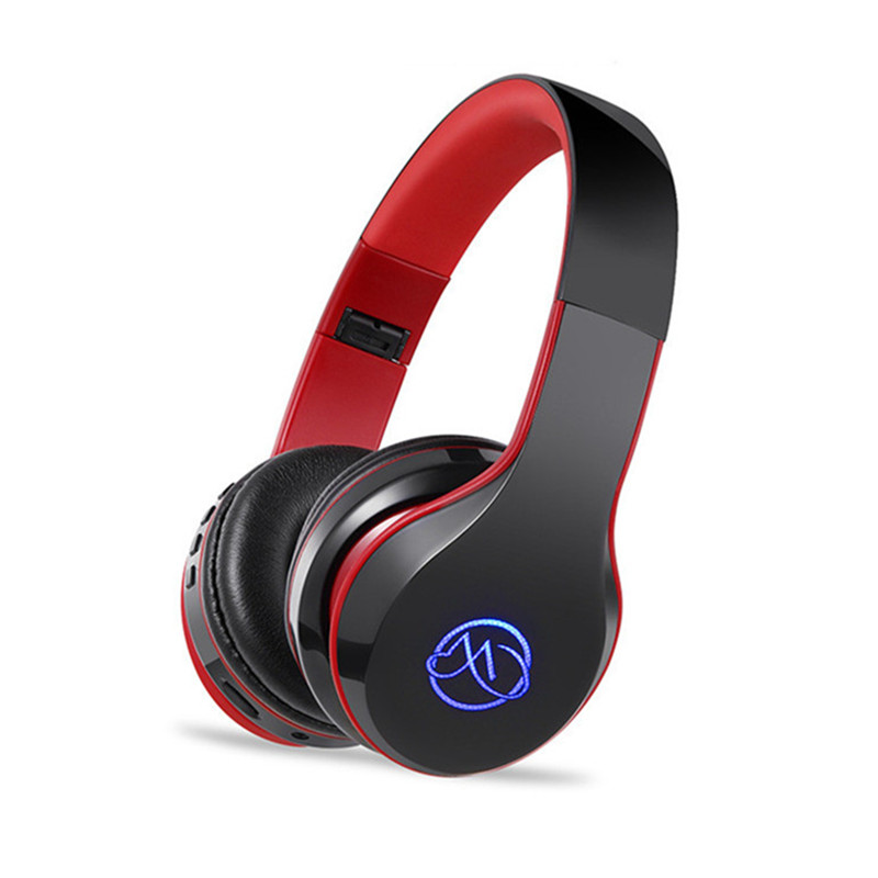 BH7 Bluetooth 4.2 Earphone Foldable Headband Wireless Headphone Stereo HIFI Bass Headset for Phone Support TF Card AUX Audio bh 23 wireless headphone