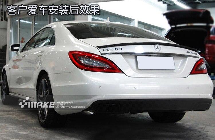 Fit for  Mercedes Benz CLS W218 CLS63 CLS300CLS350   carbon fiber rear spoiler  rear wing|rear wing|carbon fiber rear spoiler|spoiler rear - title=