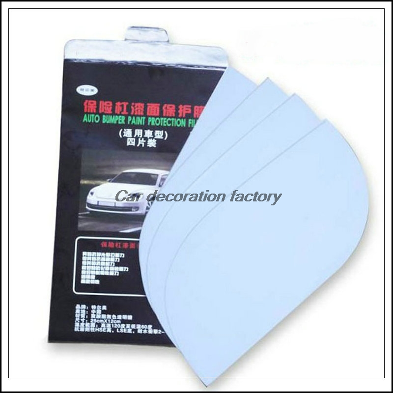 Car bumper paint protection film stickers for ford focus for Car paint protection film cost