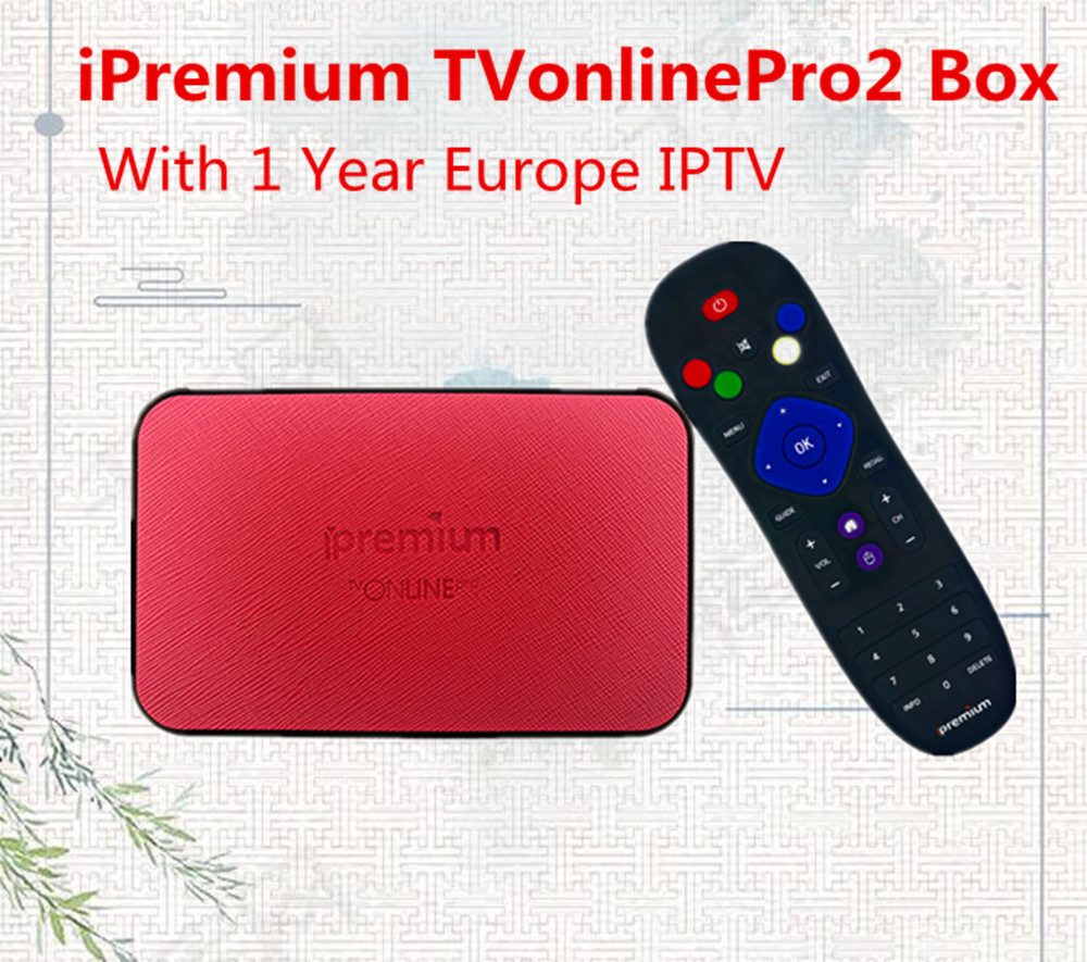 2018 New iPremium TVonlinePro2 Amlogic S905X 4K Bluetooth YouPorn YouTube Dream IPTV Support Stalker IPTV Android