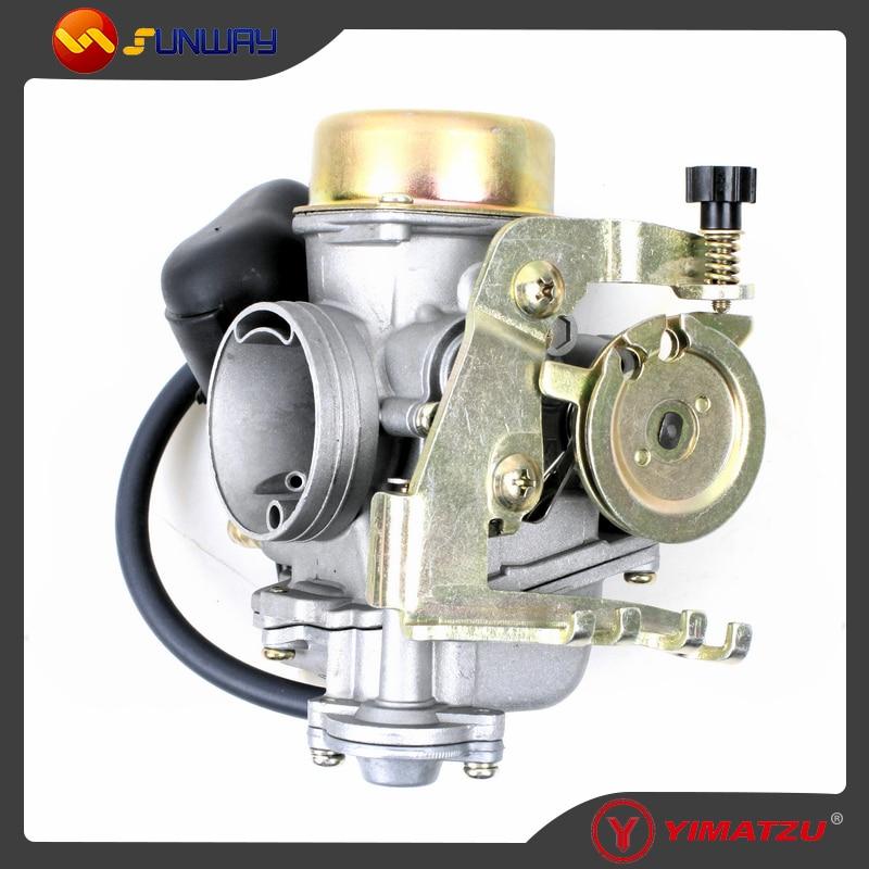 SUNWAY ATV Parts Carburetor for FA D300 H300 Buyang ATV Carburetor Free Shipping parts Number 2