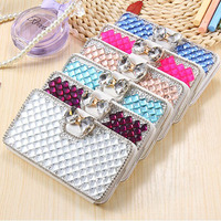 For Xiaomi Redmi 4X Case Leather Flip Case For Xiaomi Redmi 4X Wallet Phone Funda Jewelled