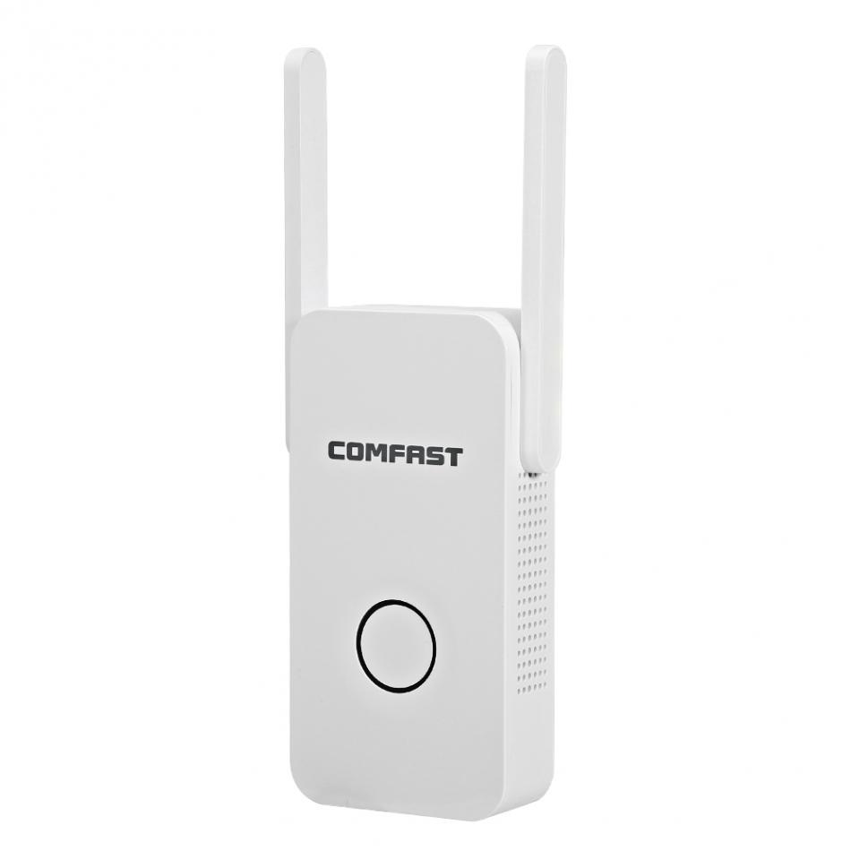 Wireless Wifi Repeater 1200Mbps Dual Band 2.4G Network Wifi Extender Signal Amplifier Signal Booster Repeater EU Plug