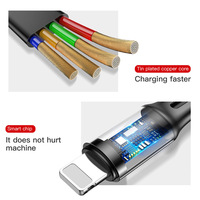 3 in 1 USB Charging Cable - Universal multifunctional USB charging Cable 12