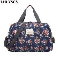 LHLYSGS Brand Women Fashion Waterproof Shoulder Bags Large Capacity Sportsing Travel Bag Hand Luggage Bag Travel