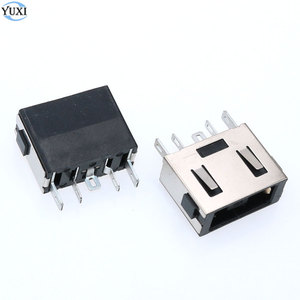 YuXi 1pcs square mouth DC Power Jack Connector for Lenovo B40 B50 E40 G40 G50 Z40 Z41 Z50 Z51 Y50 N50 Z510 T440(China)