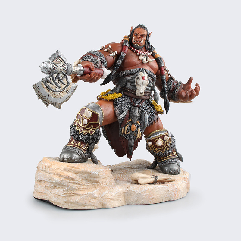 Brand New Movie Action Figure Toys Frostwolf Durotan 22cm High PVC Figure Model Toy For Collection/Gift/Kids brand new dc cartoon action figure toys aquaman 24cm pvc classical figure model toy for gift kids collection free shipping
