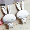 Bluelans Couple Keychain Valentine's Day Lover Gift Rabbit Keyring Keyfob 1 Pair