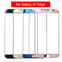 for Galaxy S7 Edge G935F Front Glass Touch Panel Cover Touch Screen Front Outer Glass for Samsung S7 Edge G935 Lens Repair Parts