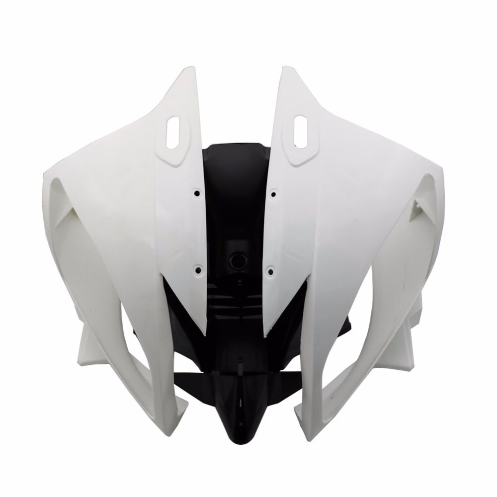 Motorcycle Unpainted Front Upper Nose Cowl Fairing For YAMAHA R6 YZF YZF-R6 2006 2007 YZFR6 06 07 ABS Plastic Fairings unpainted abs plastic front upper cowl nose fairing bodywork for yamaha yzf r6 r600 1998 2002 1999 2000 2001
