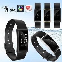 SGN108 Смарт Браслет Смарт-часы измерять кровяное давление/сердечного ритма фитнес-трекер Smart Браслет smartwatch для iOS и Android