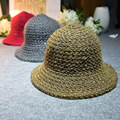 Ms. Ma Haimao Winter Beanie Hat warm wool cap Sequin basin hat cap wholesale Korean Color tab