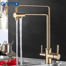 GAPPO water filter taps kitchen sink faucet torneira water mixer Brass kitchen Mixer drinking water filter taps GA4398-5/4398-6