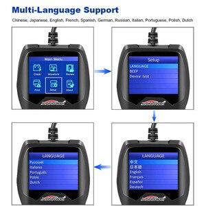 Image 4 - バッテリーテスター12v自動車負荷車デジタルバッテリーアナライザー電池スキャナ多言語車両バッテリー診断ツール