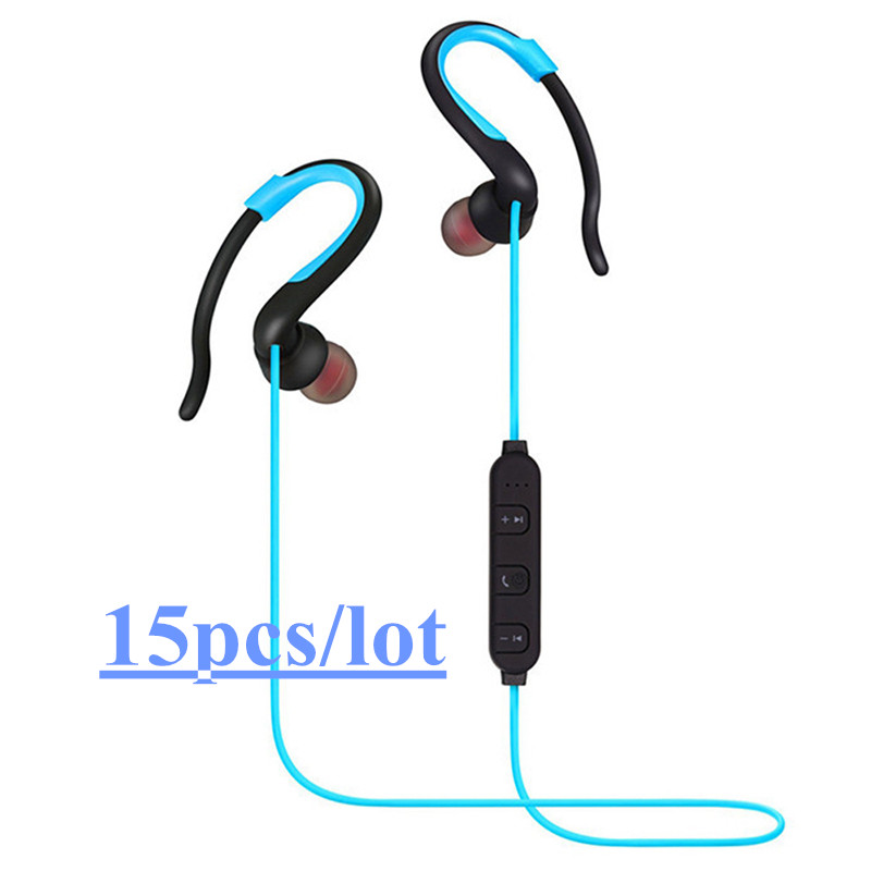 15x BH-829 Wireless Head set Bluetooth Stereo In-Ear Run Sport Earphone phones With Mic For IPhone Samsung LG
