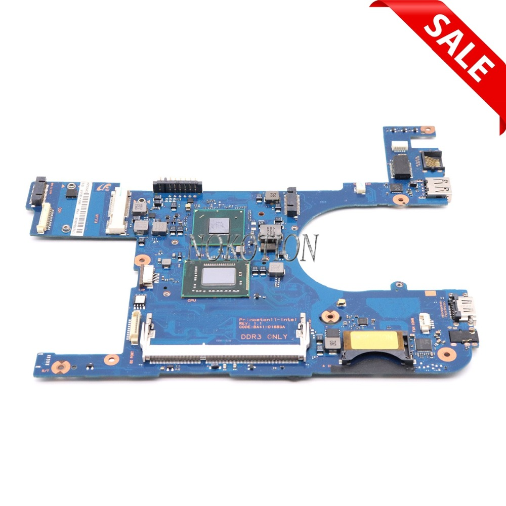 NOKOTION BA92-09370A BA92-09370B BA41-01685A For samsung 350U2A 350U2B laptop motherboard Pentium 977 ddr3 nokotion for samsung r530 laptop motherboard ba92 06346a ba92 06346b ba41 01227a pm45 gt310m ddr3