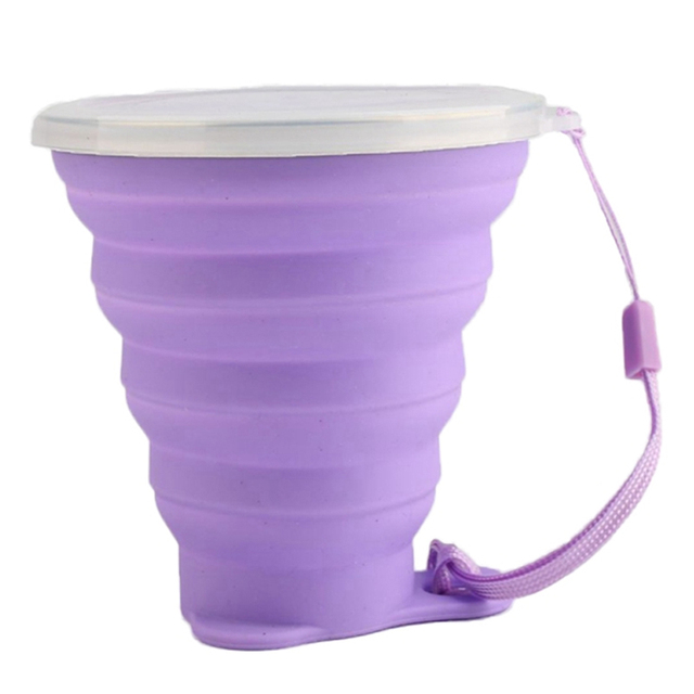 Foldable Silicone Coffee Cup