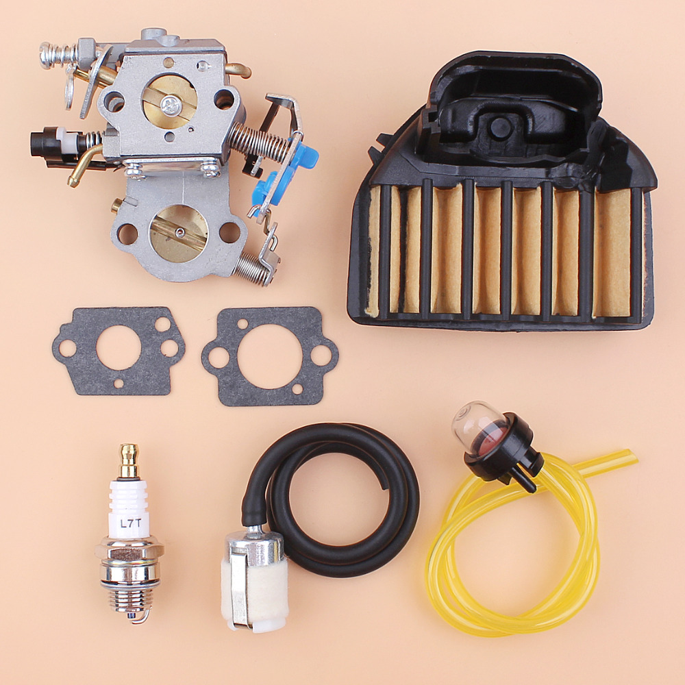 Carburetor Air Filter Repair Kit For HUSQVARNA 455 Rancher 460 461 Chainsaw Replace Zama C1M-EL35 Walbro WTA-29 WTEA-1-1