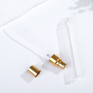 Image 3 - 50pcs 2ml 3ml 5ml 10ml Parfum Verstuiver Travel Spray Bottle For Perfume Portable Empty Cosmetic Containers With Aluminium Pump