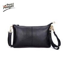 2017 Genuine Leather Women Clutch Bags Cowhide Envelope Organizer Purse Evening Party Handbags Ladies Small Shoulder Beautician