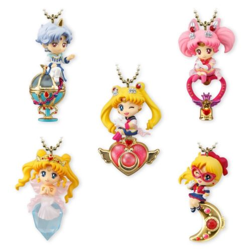 5pcs Shokugan Sailor Moon Twinkle Dolly Vol.4 Japan Anime Collectible Mascot Toy Figure 100% Original sailor moon stained crystal light gashapon set of 4 japan anime mascot 100% original