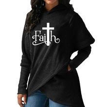 Высокое качество Большой размеры 2018 Новая мода вера печати Толстовка женские свитера толстовки для женщин женская одежда повседневное Street