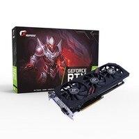 Красочная видеокарта NVIDIA GeForce RTX 2060 iGame Ultra Gaming 6 ГБ GDDR6 192Bit DP + HDMI + DVI OC Clock 1710 МГц RGB