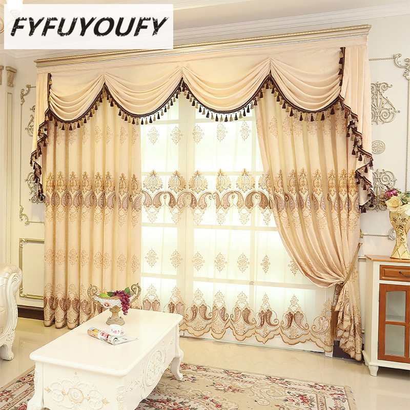 Elegant Kitchen Curtains Valances: Aliexpress.com : Buy 2 Color European Luxury Elegant
