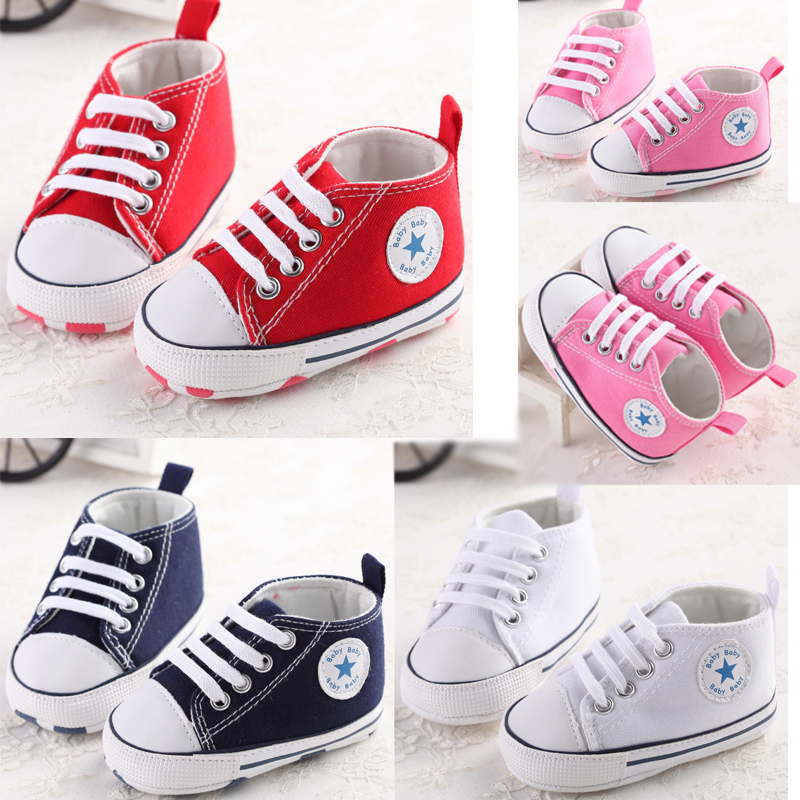 Soft Sole Crib Shoes Sneaker Newborn