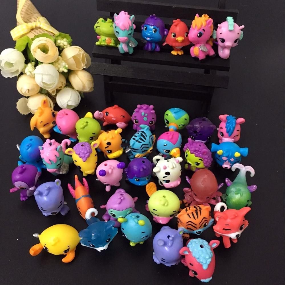 00pcs lot my cute cartoon animals 30 45 different styles random mixed 3 3 5cm