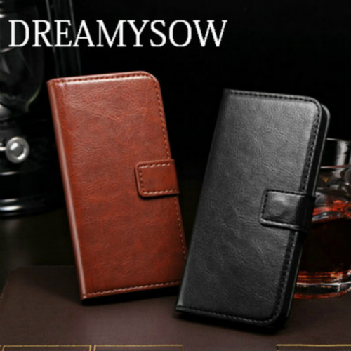 DREAMYSOW Leather Phone Case For iPhone 5 5S 6 6S 7 7plus For iPhone SE 6plus 6Splus Business Style Wallet PU Back Cover