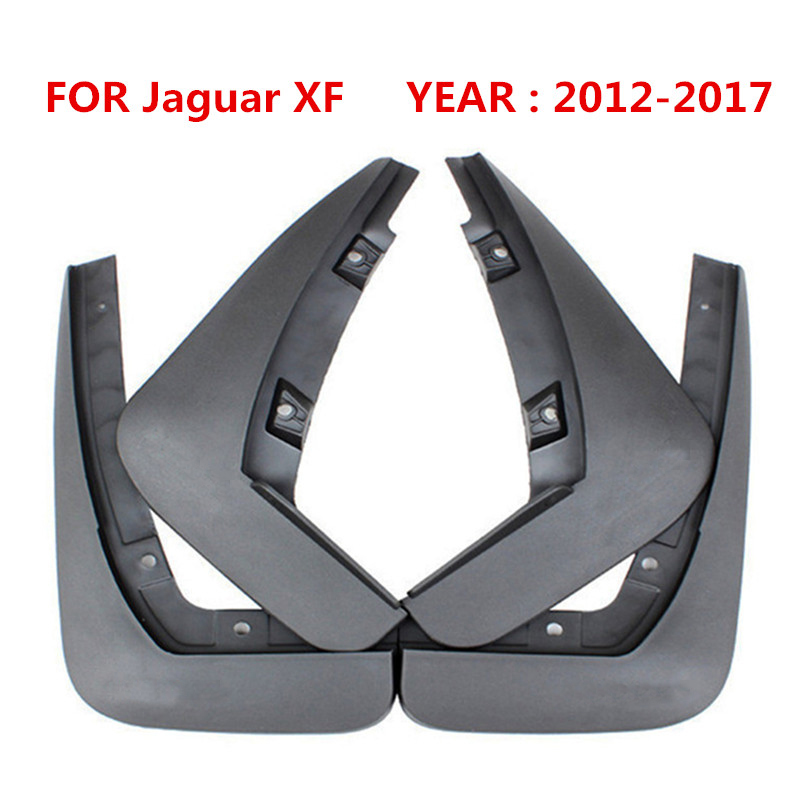 4pcs set Car Front Rear mudguards For Jaguar XF 2012 2013 2014 2015 2016 2017 Mud