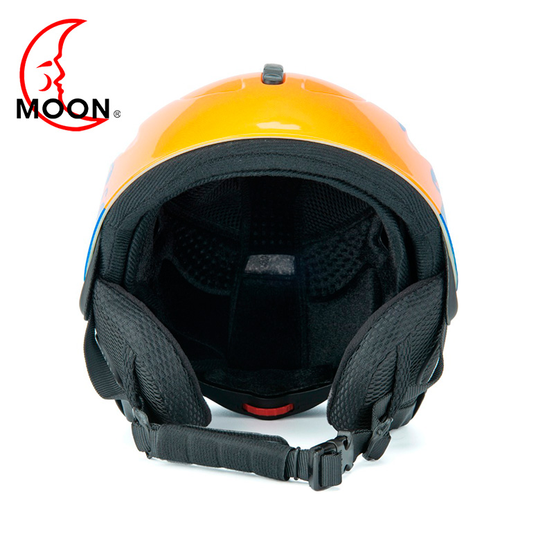 Moon Ski Helmet 2019 New Warm And Windproof Skiing Equipment Integrated Outdoor Sport Adult Men Spark Seal Ski Helmet Cover A39 Sports & Entertainment