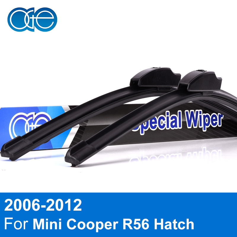 Oge Front And Rear Wiper Blades For Mini Cooper R56 Hatch 2006-2012 High Quality Rubber Windshield Car Accessories цена