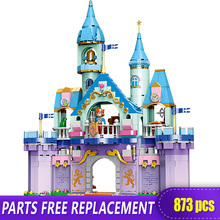 Xingbao 12024 Prince Charming Construction Building Blocks Toys for Girls Dream Castle Princess and LOGO Bricks